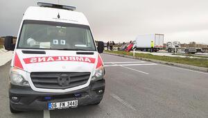 Tekirdağ'da ambulans ile otomobil çarpıştı: 1 yaralı
