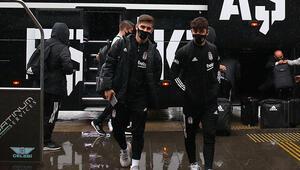 Beşiktaş kafilesi Gaziantepte