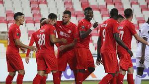 Sivasspor 2-0 Karabağ (Maçın özeti ve golleri )