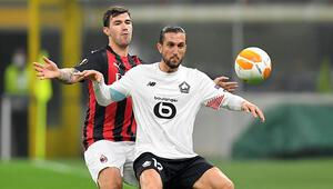 Milan 0-3 Lille (Yusuf Yazcı hat-trick yaptı)