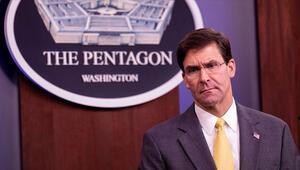 ABD Savunma Bakanı Esperin istifa edeceği iddia edildi