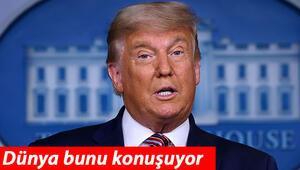 Son dakika haberi: ABD Başkanı Donald Trumptan flaş açıklama Oylarımız bir anda kaybolmaya başladı