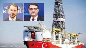 Fatih sondaj gemisi Türkali-1'de sondaja başladı