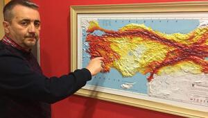 Prof. Dr. Oruçtan, Kuzey Anadolu fay hattının güney kolu için uyarı