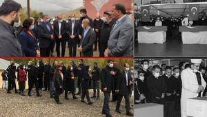 Son dakika... İşçilerin cenazesine katılmayan HDPden uyuşturucu kuryesinin ailesine destek ziyareti