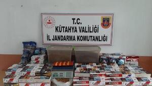 Tavşanlı'da 36 bin adet kaçak sigara ele geçirildi