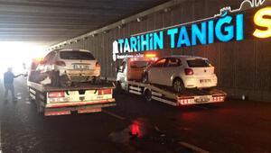 Diyarbakırda 5 aracın karıştığı zincirleme kaza: 6 yaralı