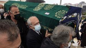 Kılıçdaroğlu Akif Hamzaçebinin annesinin cenaze törenine katıldı