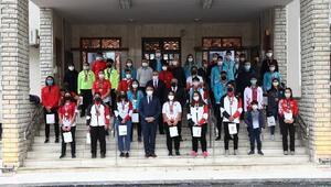 Vali Balcı, başarılı sporcuları ödüllendirdi