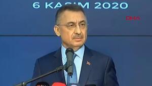 Son dakika: Cumhurbaşkanı Yardımcısı Fuat Oktaydan flaş açıklamalar
