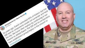 ABDli komutandan skandal sözler Twitterdan teröristlere övgü yağdırdı