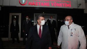 Sağlık Bakanı Kocadan İstanbuldaki devlet hastanelerine ziyaret