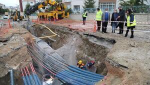 Sincan Saraycık'ta çalışma başladı