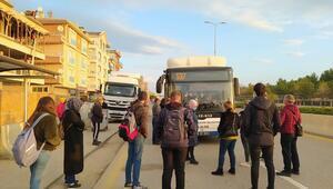 'Otobüsler durmuyor binemiyoruz' isyanı