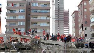 İzmirdeki depremde enkaz altında kalmaktan son anda kurtulan Fırat Şeyben: O insanlar bizim canımızdı