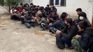 Vanda operasyon 37 kaçak göçmen yakalandı