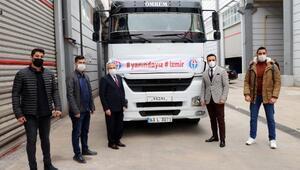 Gaziantepte üniversitelilerden İzmir'e yardım