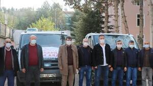 Sandıklıdan İzmire yardım