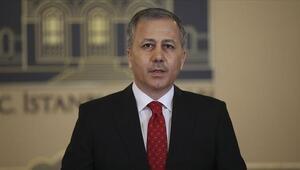 Vali Yerlikayadan İstanbulda koronavirüs denetimleri açıklaması