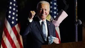 Son dakika haberi: ABD Başkanı ilan edilen Joe Bidendan ilk açıklama: Tüm Amerikalıların başkanı olacağım