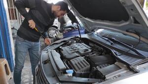 Ustasından sürücülere araçları için kış bakımı uyarısı