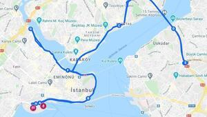 İstanbul Maratonu kapalı yollar listesi açıklandı Avrasya Maratonu trafiğe kapalı yollar hangileri