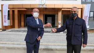 Meram Belediyesi öncülüğünde yapılan Aksinne konutları sahiplerine teslim edildi