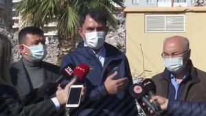 Bakan Kurum'dan İzmir'de önemli açıklamalar