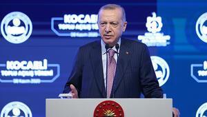 Son dakika... Cumhurbaşkanı Erdoğandan Kocaelinde toplu açılış töreninde önemli açıklamalar