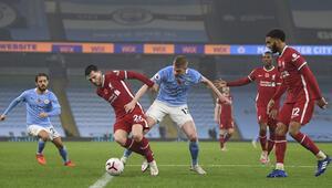 Premier Ligde Manchester City ile Liverpool birer puana razı oldu