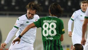 Bursaspor zirve yarışından uzak kaldı Tüm maçlarda golü var ama...