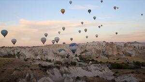 Kapadokyayı ekimde 175 bin 612 turist gezdi