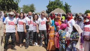 Adliye çalışanlarından Afrikada su kuyusu
