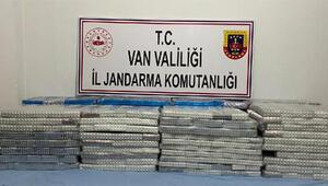 Başkale'de 33 bin 830 tablet kaçak ilaç ele geçirildi