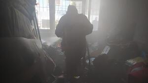 Siirtte korkutan yangın, ev kullanılamaz hale geldi