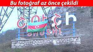 Son dakika haberi: Azerbaycan tarihi zafere ilerliyor... Şuşada Azerbaycan bayrağı dalgalanıyor