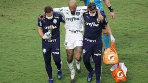 Son Dakika   Felipe Melonun ayak bileği kırılmıştı Resmi açıklama geldi...
