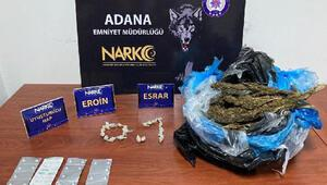 Adana'da uyuşturucu satıcılarına yönelik operasyon: 18 tutuklama