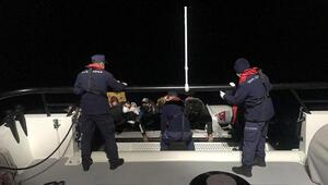 Marmaris açıklarında çok sayıda sığınmacı kurtarıldı