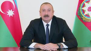 Son dakika Azerbaycan Cumhurbaşkanı Aliyev duyurdu: Ermenistan işgalinden yeni bölgeler kurtarıldı