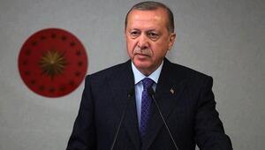 Cumhurbaşkanı Erdoğandan Azerbaycan Bayrak Günü mesajı