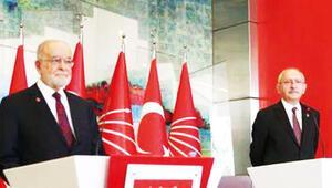Karamollaoğlu'ndan Kılıçdaroğlu'na kongre ziyareti