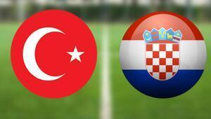 Özel maçta konuğumuz Hırvatistan