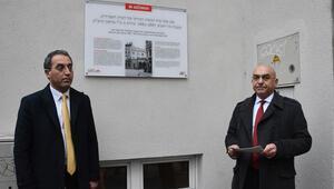 Nazi döneminde yakılan 'Türk mabedi' için anma