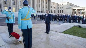 Atatürkün aramızdan ayrılışının 82. yılında TBMMde tören düzenlendi