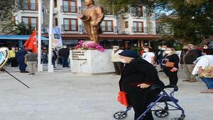 Büyük Önder Atatürk, Datçada anıldı