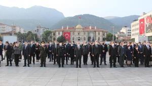 Atatürk, ölümünün 82nci yıldönümünde Manisada törenle anıldı