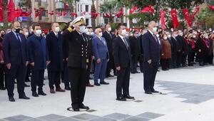 Çanakkalede, Ulu Önder Atatürk saygıyla anıldı