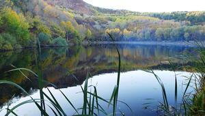 Çubuk Karagöl sonbaharda da ziyaretçilerin ilgi odağı oldu
