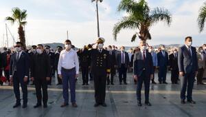 Atatürk Kaşta anıldı